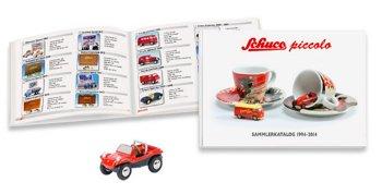 Set:VW Buggy mit Sammlerkatalog 1994-2014(Schuco/Piccolo, 1:90)