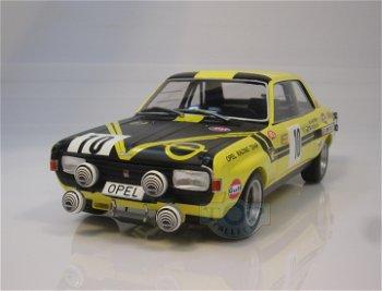 Modellauto:Opel Commodore A - Steinmetz -mit # 10 - 1.000 km Nürburgring 1970 -(Minichamps, 1:18)