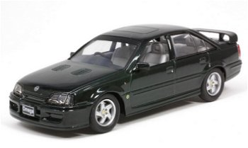 Modellauto:Opel Collection:Opel Lotus Omega von 1989-1992, dunkelgrün(Maßstab 1:43)