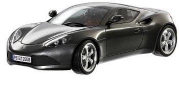 Modellauto:Artega GT von 2008, grau-metallic(Revell, 1:18)