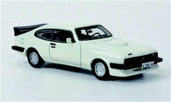 Modellauto:Ford Capri Mk III Turbo von 1982, weiß(NEO, 1:87)