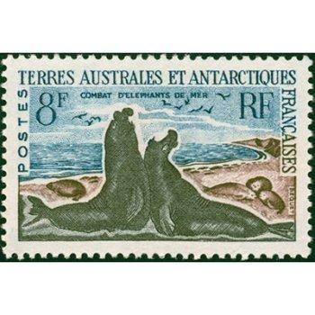 Tiere der Antarktis - Briefmarke postfrisch, Katalog-Nr. 25, TAAF