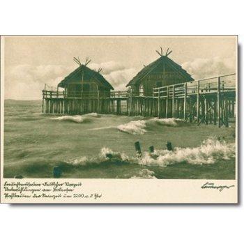 "7770 Überlingen - Postkarte ""Pfahlbautenr"""