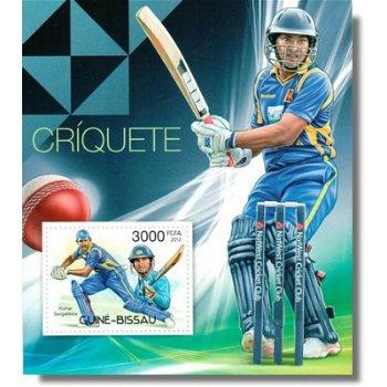 Cricket - Briefmarken-Block postfrisch, Katalog-Nr. 5906 Bl. 1043, Guinea-Bissau