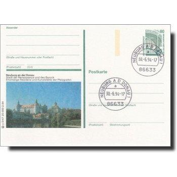 8858 Neuburg an der Donau - Bildpostkarte