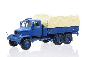 Modell-LKW:Praga V3S PP, blau(Abrex, 1:43)