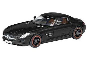 """Modellauto:Mercedes-Benz SLS AMG Coupé""""Concept Black""""(Schuco, 1:87)"""