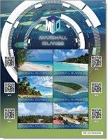 Crypto Stamp - Briefmarken-Block postfrisch, Marshall-Inseln