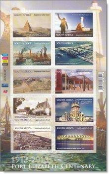 100 Jahre Port Elizabeth - Folienblatt postfrisch, Südafrika