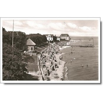 2270 Föhr - Postcard & quot; Beach & quot;