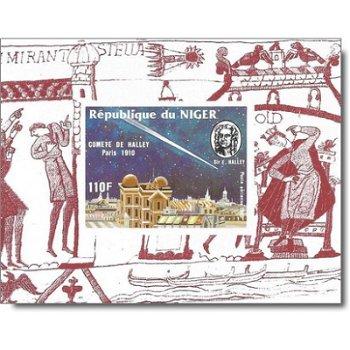 Halleyscher Komet - 5 Luxusblocks postfrisch, Katalog-Nr. 977-981, Niger