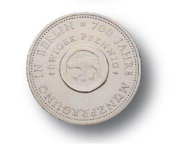 10-Mark-Münze 1981, 700 Jahre Münzprägung in Berlin, DDR