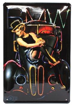 Blechschild:Marlene Dietrich(20 x 30 cm)