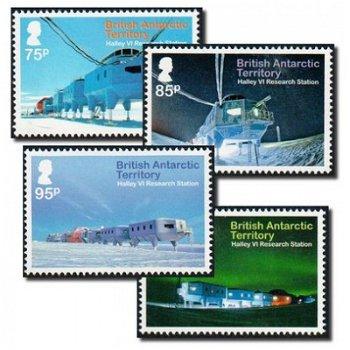 Forschungsstation Halley VI - 4 Briefmarken postfrisch, BAT