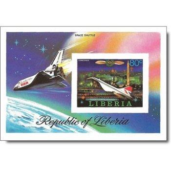 Geschichte der Luftfahrt – Briefmarken-Block postfrisch, ungezähnt, Katalog-Nr. 1053, Block 88 B, Li