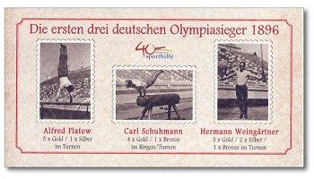 40 Jahre Deutsche Sporthilfe - Jubiläums-Farbsonderdruck
