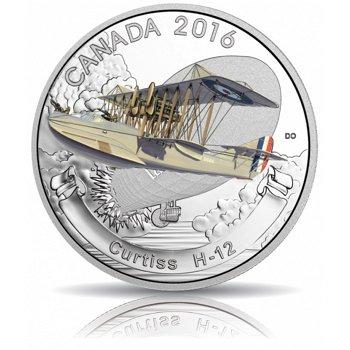 Curtiss H-12, 20 Dollar Silbermünze, Canada
