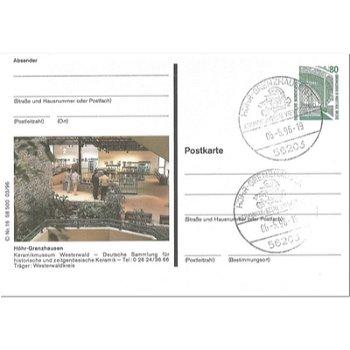 """5410 Höhr-Grenzhausen - Bildpostkarte """"Keramikmuseum"""""""