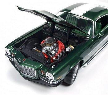 Modellauto:Chevrolet - Baldwin Motion - Camaro von 1970, grün-weiss(Autoworld/Ertl, 1:18)