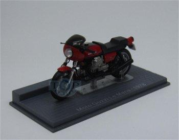 Modell-Motorrad:Moto Guzzi 850 Le Mans von 1978(IXO, 1:24)