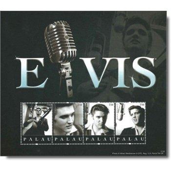 Elvis Presley - Briefmarken-Block postfrisch, Palau