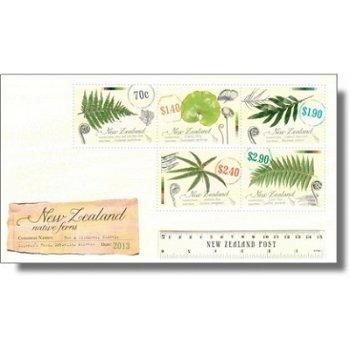 Farne - Briefmarken-Block postfrisch, Neuseeland