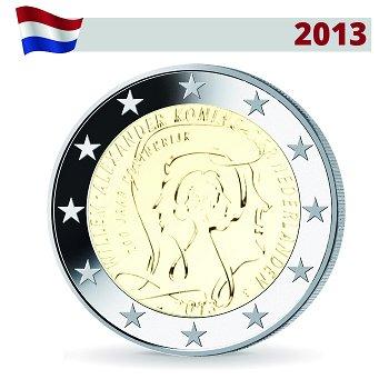 2 Euro Münze 2013, 200 Jahre Königreich, Niederlande