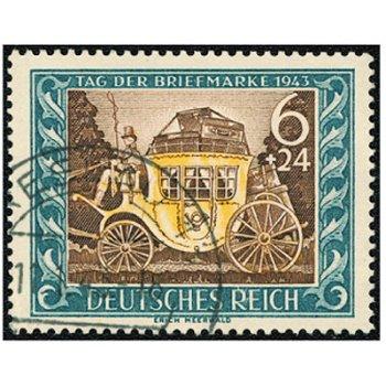 Tag der Briefmarke 1943 - Briefmarke, Katalog-Nr. 828, gestempelt, Deutsches Reich