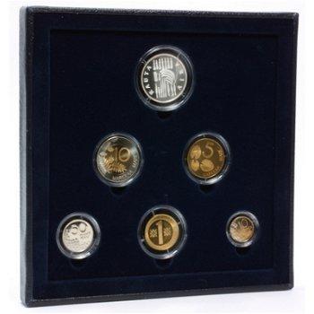 Kursmünzensatz 2000 in Polierter Platte, Finnland