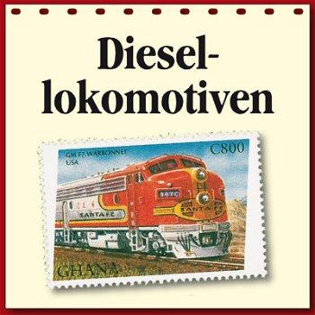 Diesellokomotiven auf Briefmarken - Motivabonnement