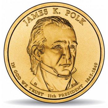 James K. Polk, Präsidentendollar 2009, USA