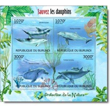 Delfine - Briefmarken-Block postfrisch, Burundi