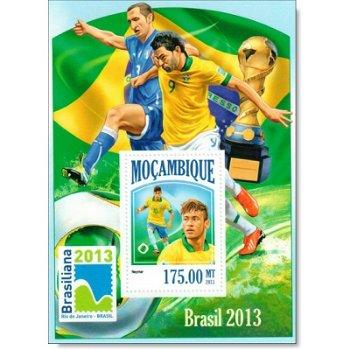 Fußball - Briefmarken-Block postfrisch, Mocambique