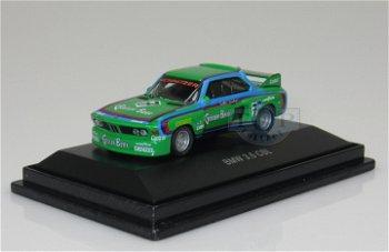 Modellauto:BMW 3.5 CSL mit # 7- Gösser Beer -(Schuco, 1:87)