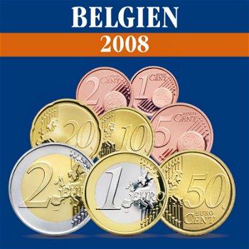 Belgien - Kursmünzensatz 2008