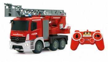 RC-Modell:Mercedes-Benz Antos Feuerwehr Drehleiter, 2,4 GHz(Jamara, 1:20)