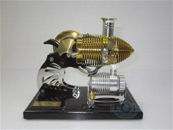 BHB 22 - Smoking Colt - Vakuum-Motor - Flammenfresser - mit dunklem Sockel(Böhm)