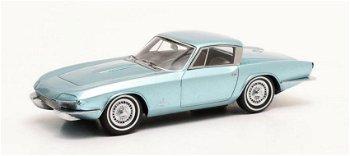 Modellauto:Chevrolet Corvette Rondine I Pininfarinavon 1963, hellblau-metallic(Matrix, 1:43)