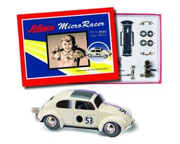 Modellauto-Montagekasten:Micro Racer- VW Käfer Herbie #53 -(Schuco/Classic)