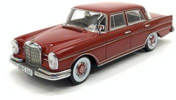 Modellauto:Mercedes-Benz 300 SE (W 112) von 1959, rot(Spark, 1:43)