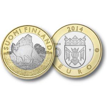 Der Fuchs, 5 Euro Münze Finnland
