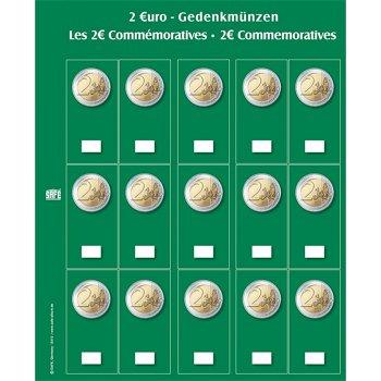 SAFE - Ergänzungsblätter für 2-Euro-Münzen, 2er-Pack, Safe 7393S