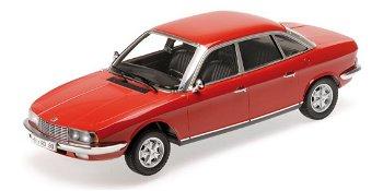 Modellauto:NSU Ro 80 von 1972, rot(Minichamps, 1:18)