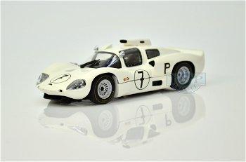 Modellauto:Chaparral 2D mit # 7, weiß(Minichamps,1:43)