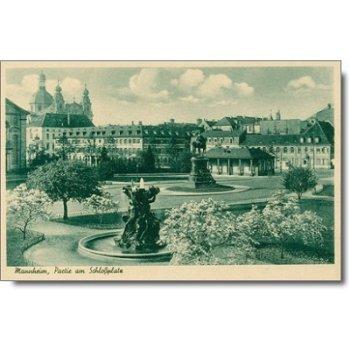 "6800 Mannheim - Postkarte ""Schloßplatz"""