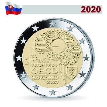 20 Jahre Beitritt zur OECD - 2 Euro Gedenkmünze, Slowakei