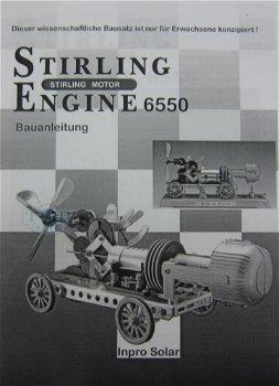 Stirling-Motor 6550 - Bausatz(Inpro Solar)