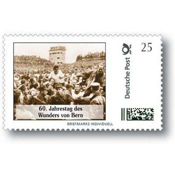 60. Jahrestag des Wunders von Bern - Marke Individuell postfrisch, Deutschland
