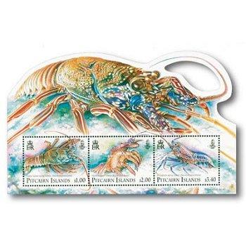 Languste - Briefmarken-Block postfrisch, Pitcairn