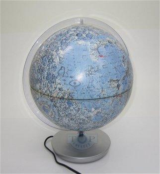 Globus:Mond Leuchtglobus(Columbus)